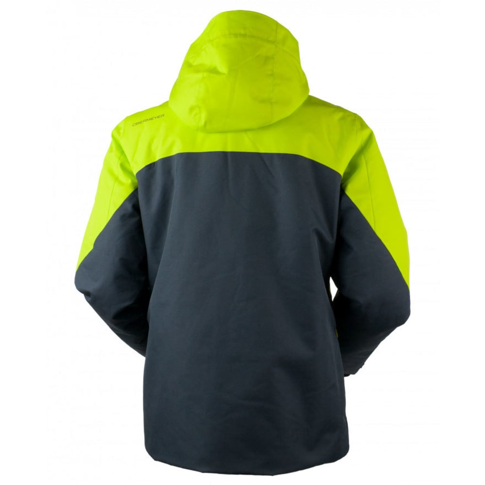 OBERMEYER Men's Freeform Jacket - GREEN FLASH