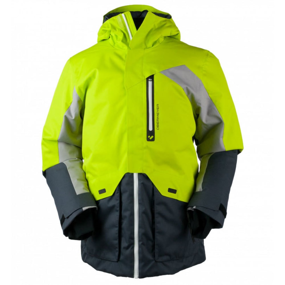 OBERMEYER Men's Freeform Jacket - GREEN FLASH
