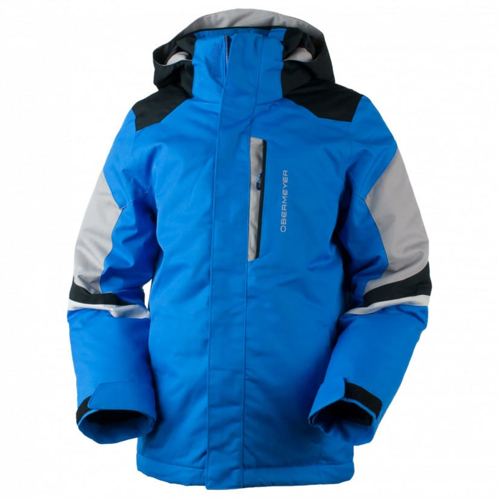 OBERMEYER Boys' Fleet Jacket - STELLAR BLUE