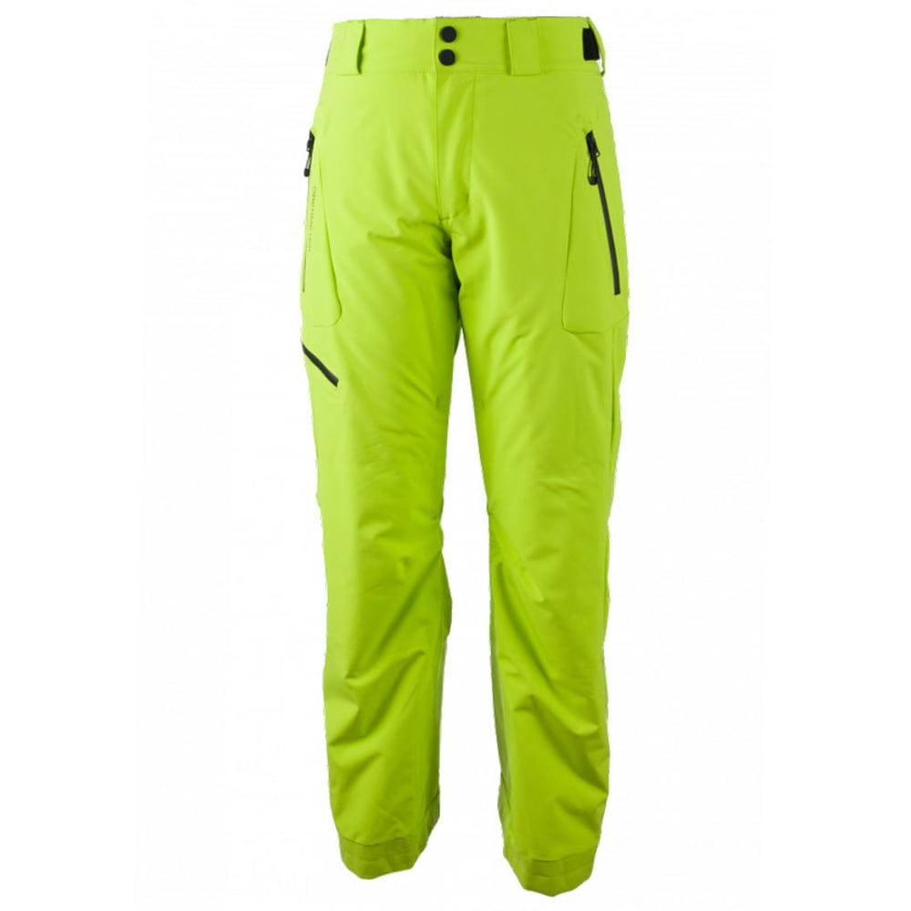 OBERMEYER Men's Force Ski Pants - GREEN FLASH