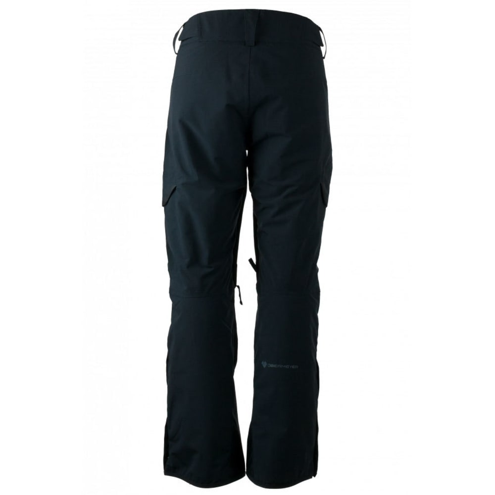 OBERMEYER Men's Ballistic Ski Pants - BLACK