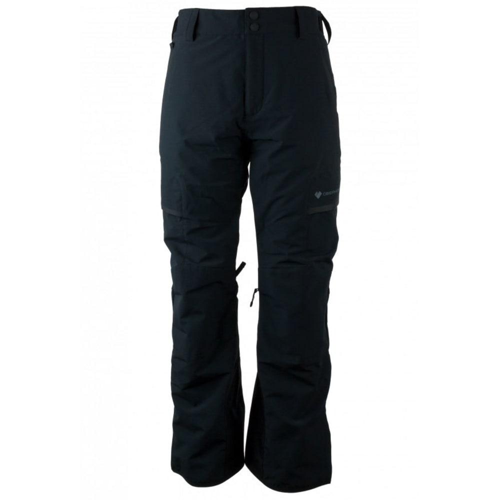 OBERMEYER Men's Ballistic Ski Pants - BLACK