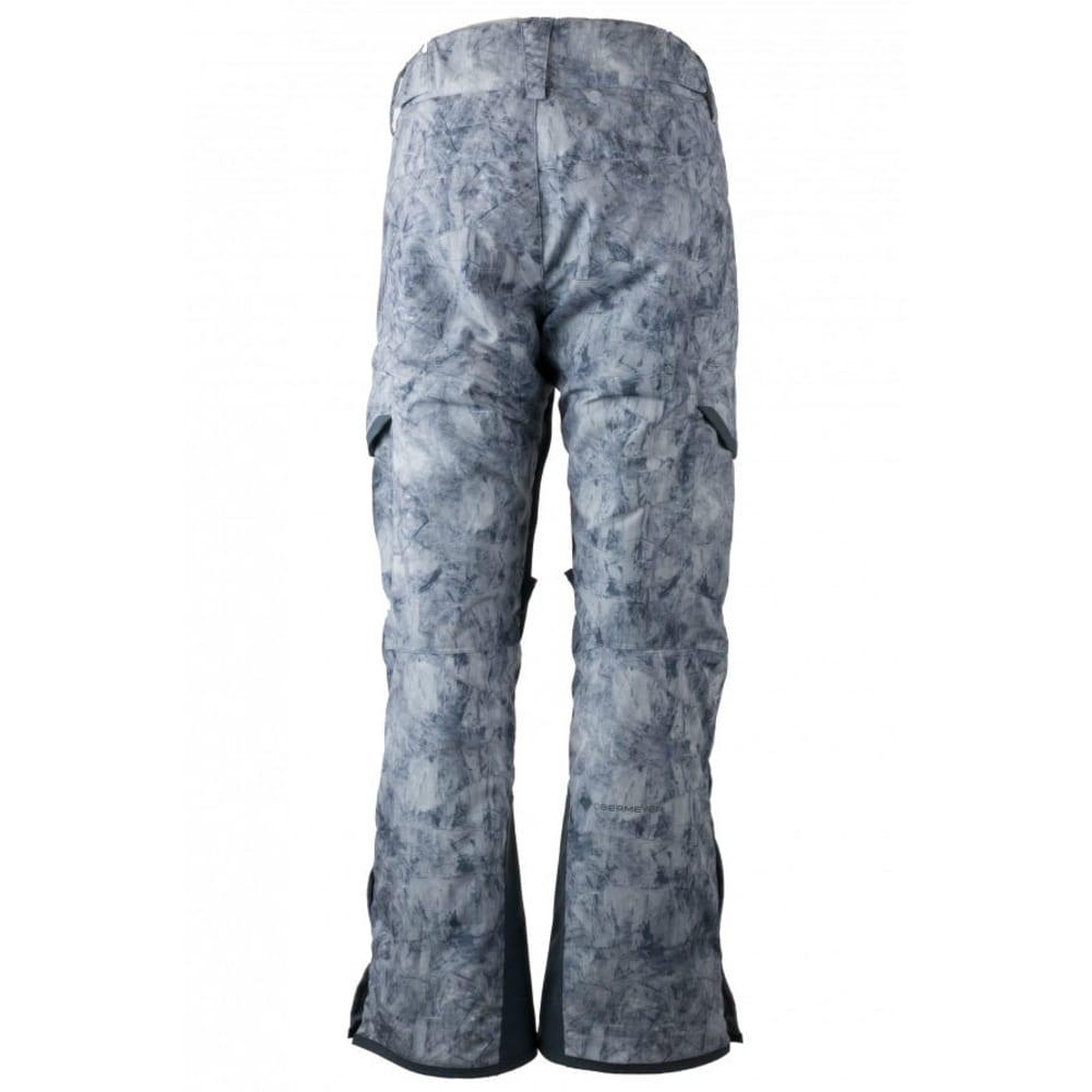OBERMEYER Men's Ballistic Ski Pants - MARBLE