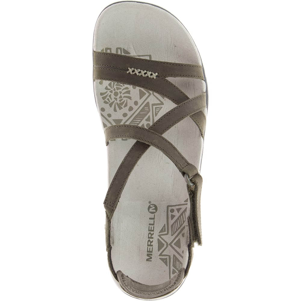 b21ac6b8d0e2 MERRELL Women s Sandspur Rose Leather Sandals - Eastern Mountain Sports