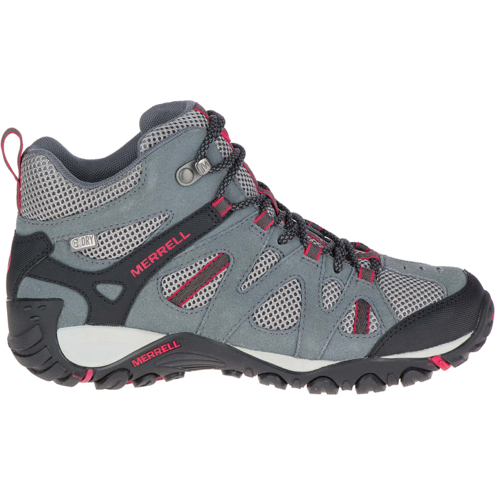 MERRELL Women's Deverta Mid Waterproof Hiking Boots - SEDONA/SKI PATROL