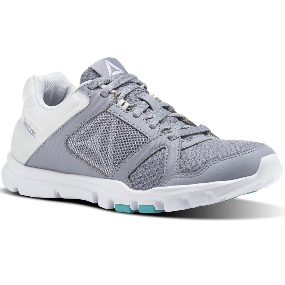 REEBOK Women's Yourflex Trainette 10 MT Cross-Training Shoes - GREY-CN1252