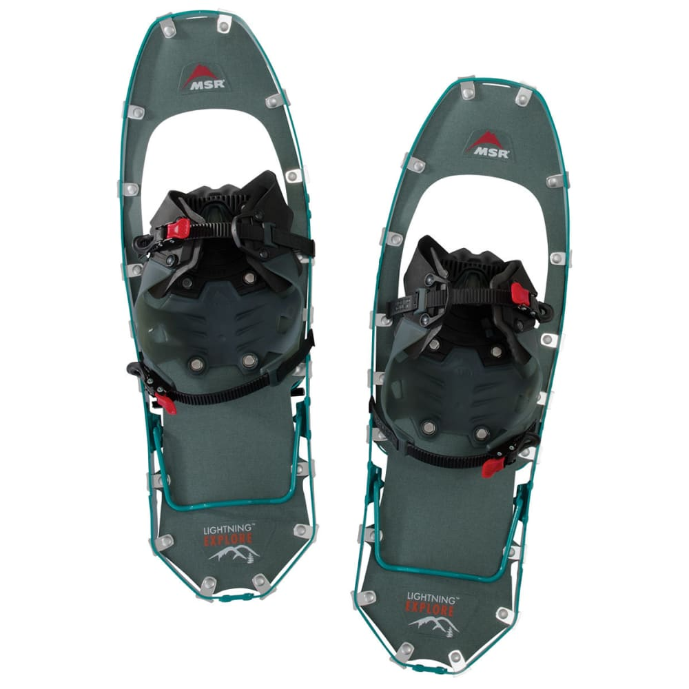 MSR Women's Lightning Explore 22 Snowshoes - TEAL