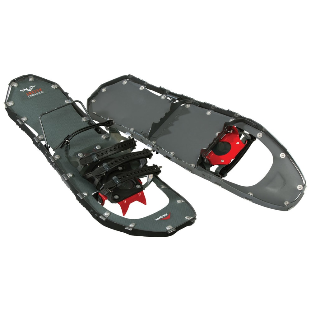MSR Women's Lightning Ascent 22 Snowshoes - GUNTMETAL