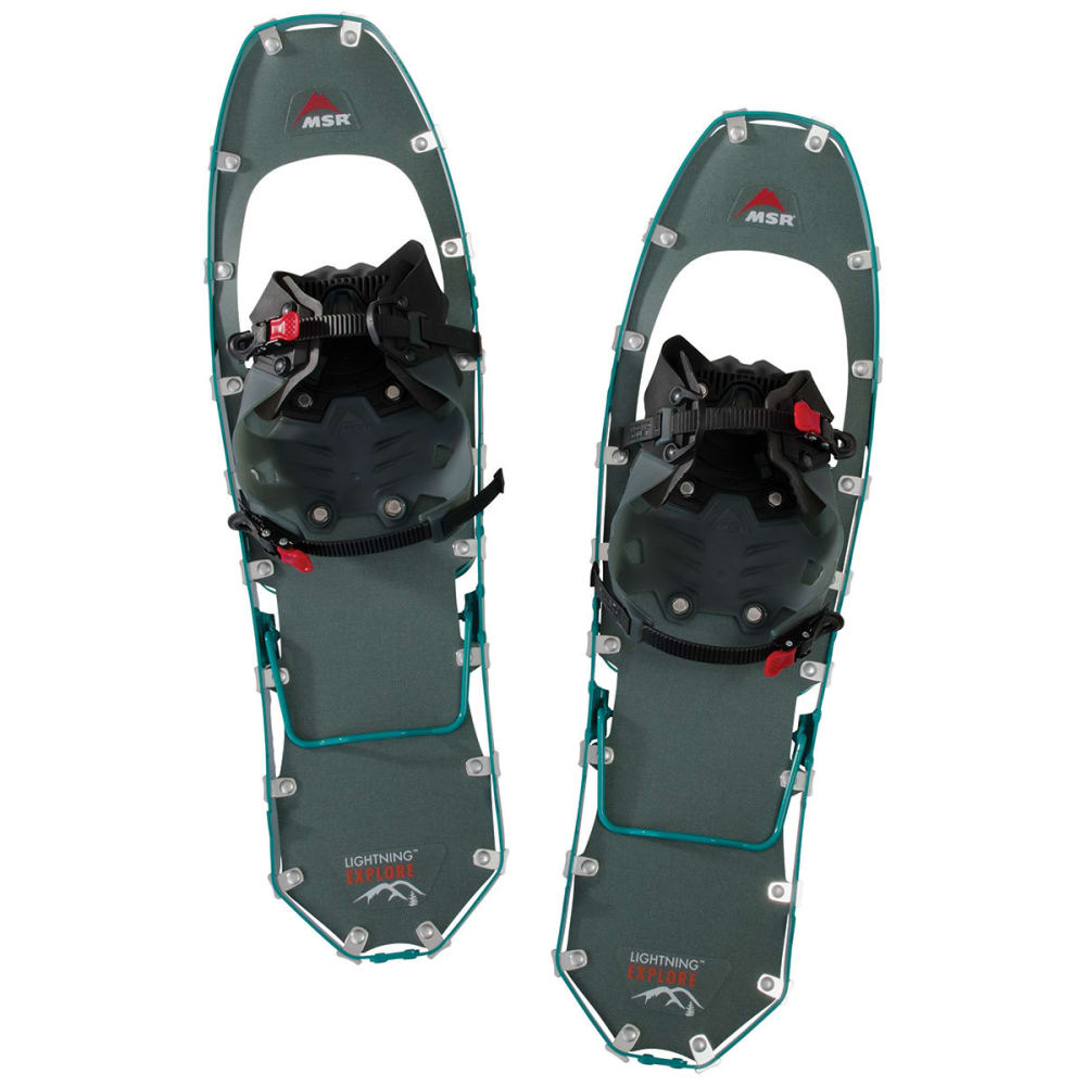 MSR Women's Lightning Explore 25 Snowshoes - TEAL