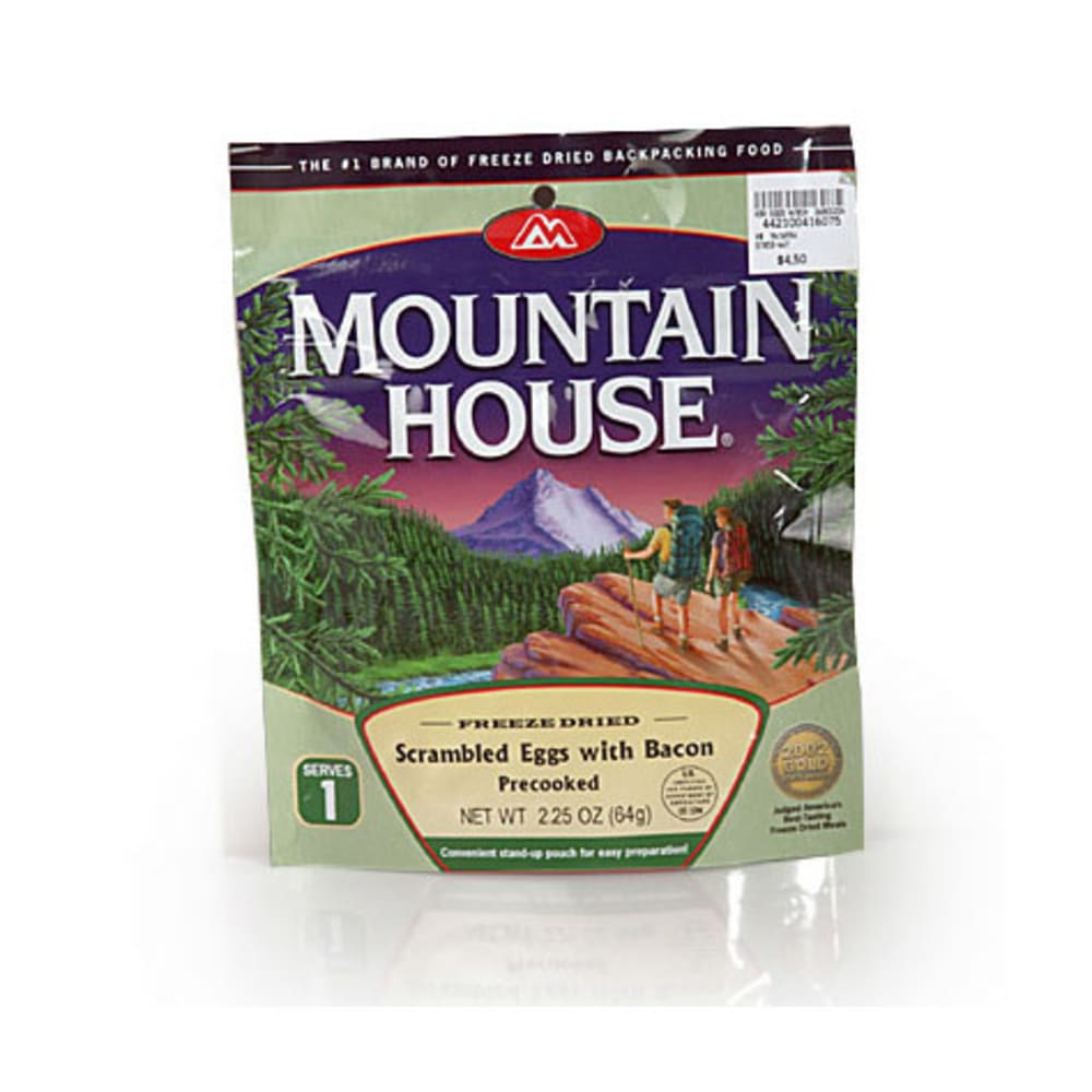 MOUNTAIN HOUSE Scrambled Eggs with Bacon - NO COLOR