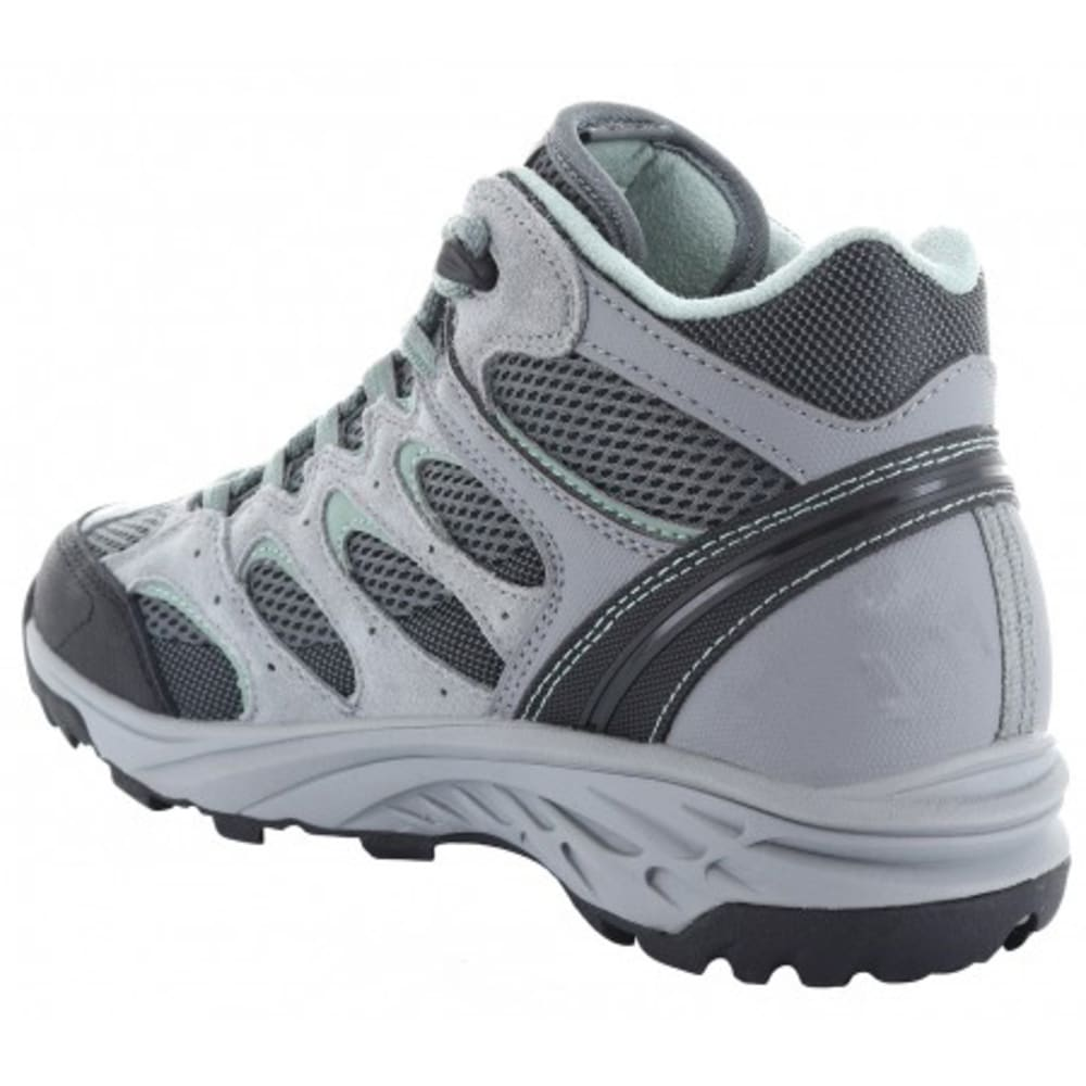 HI-TEC Women's V-Lite Wildfire Mid I Waterproof Hiking Boots - COOL GREY/GRAPHITE