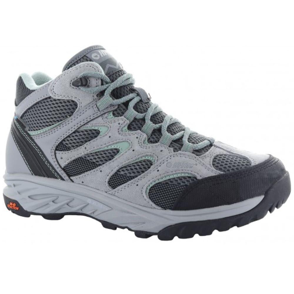 HI-TEC Women's V-Lite Wildfire Mid I Waterproof Hiking Boots - COOL GREY/GRAPHITE