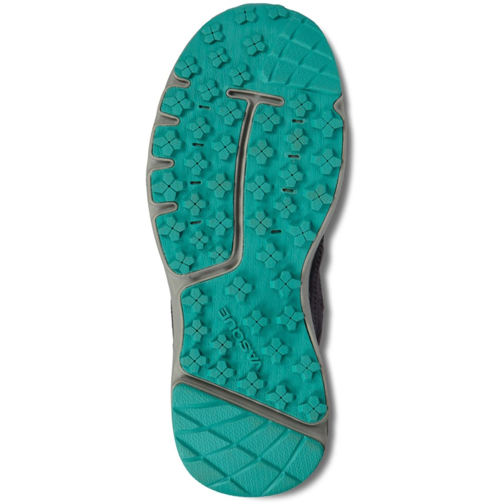 VASQUE Women's Mesa Trek UltraDry Waterproof Mid Hiking Boots - EBONY/BALTIC