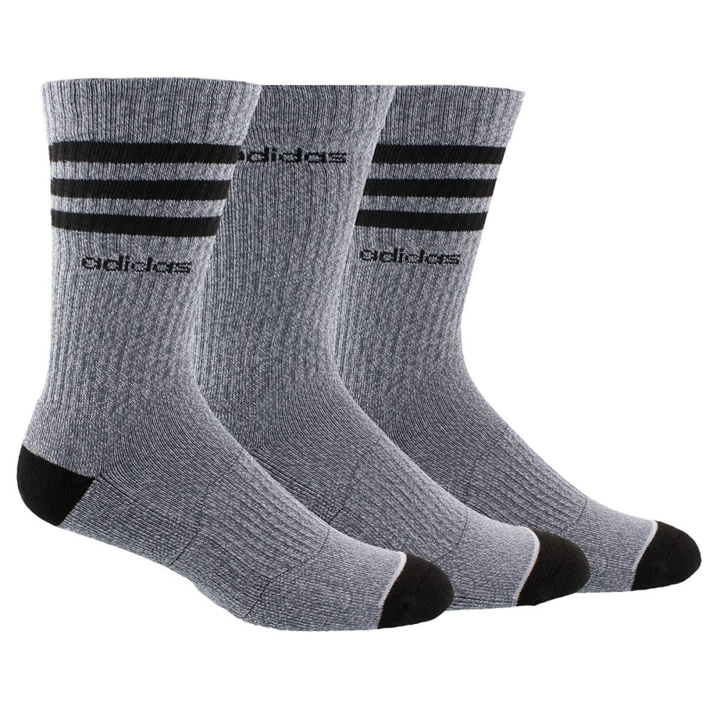 ADIDAS Men's Cushioned Color Crew Socks, 3-Pack 10-13