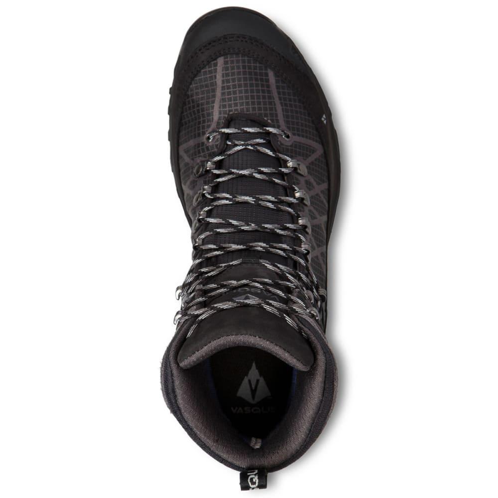 VASQUE Men's Saga GTX Waterproof Mid Backpacking Boots - JET BLACK