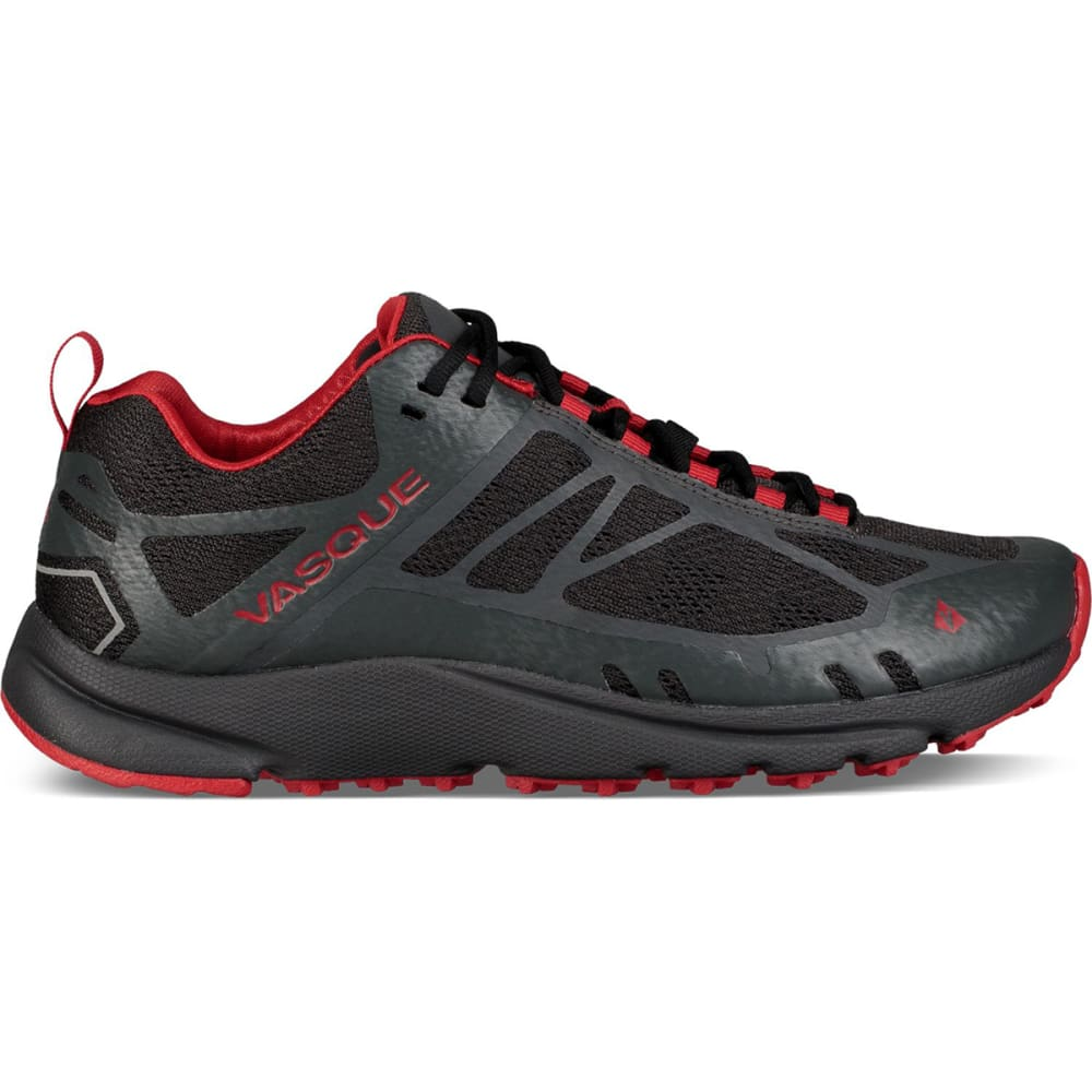 VASQUE Men's Constant Velocity II Trail Running Shoes - MAGNET/RED