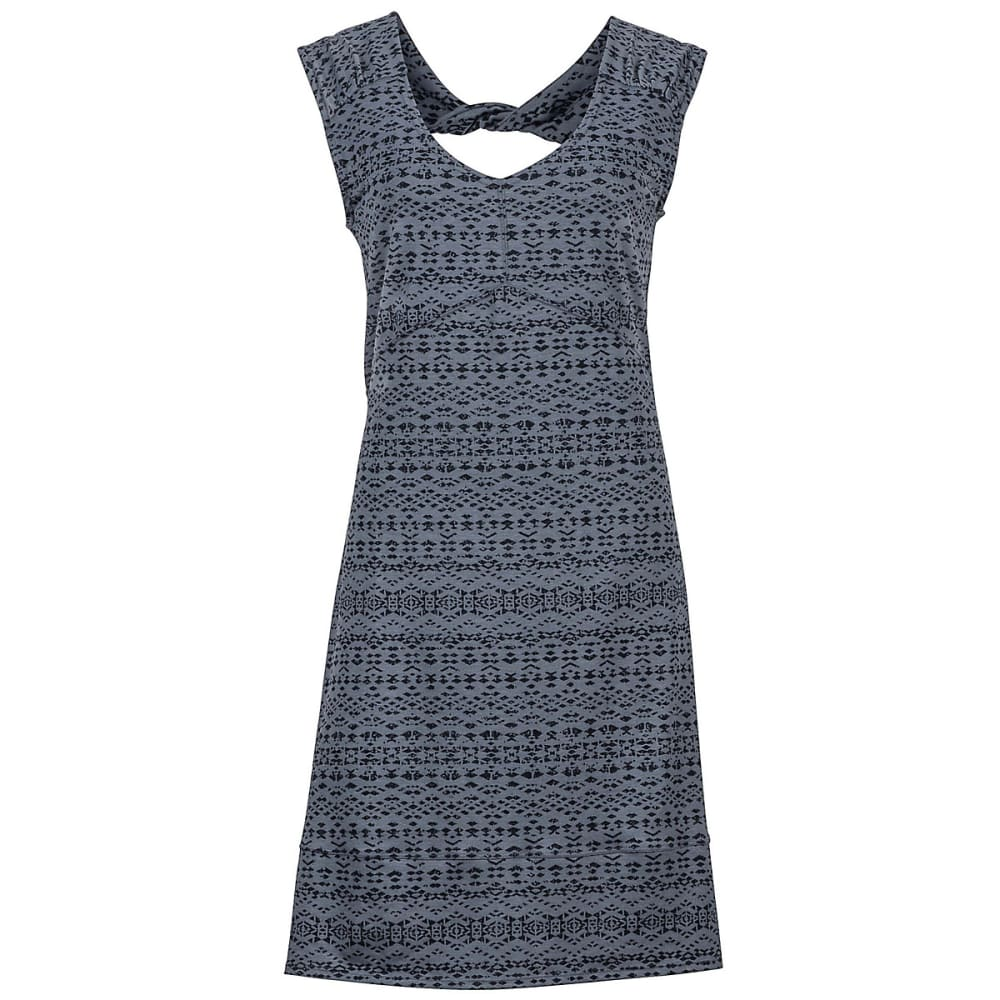 MARMOT Women's Annabell Dress - STEEL ONYX-8200