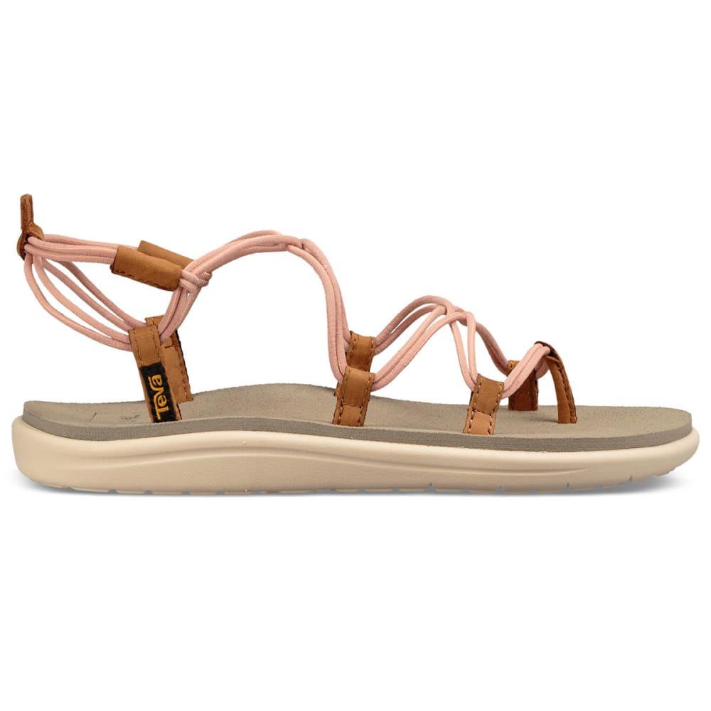 TEVA Women's Voya Infinity Sandals - TROPICAL PEACH