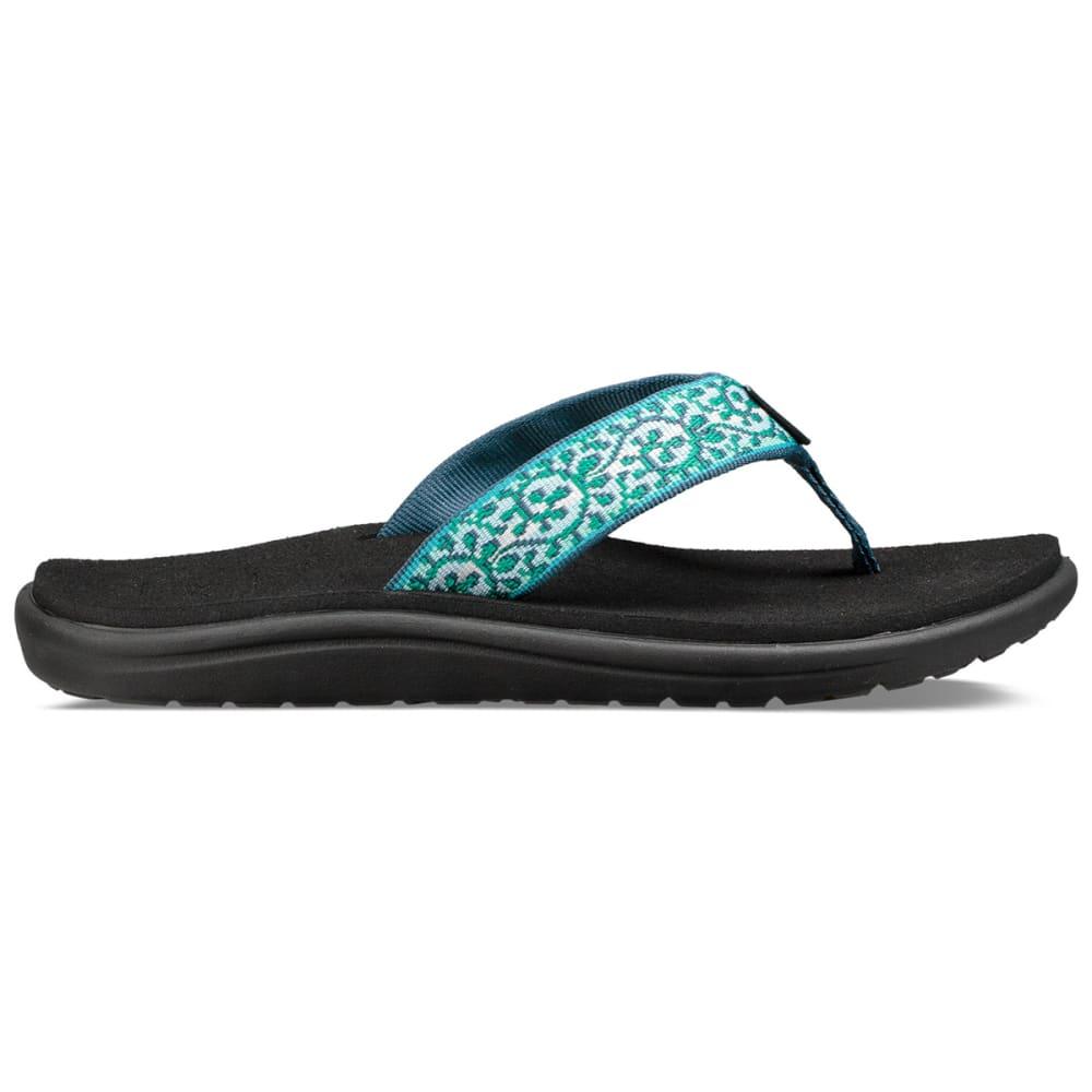 8da5c8d1107eb ... TEVA Women  39 s Voya Flip Sandals - COMPANERA BLUE