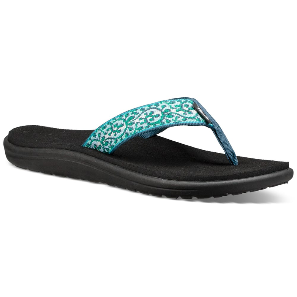 TEVA Women's Voya Flip Sandals - COMPANERA BLUE