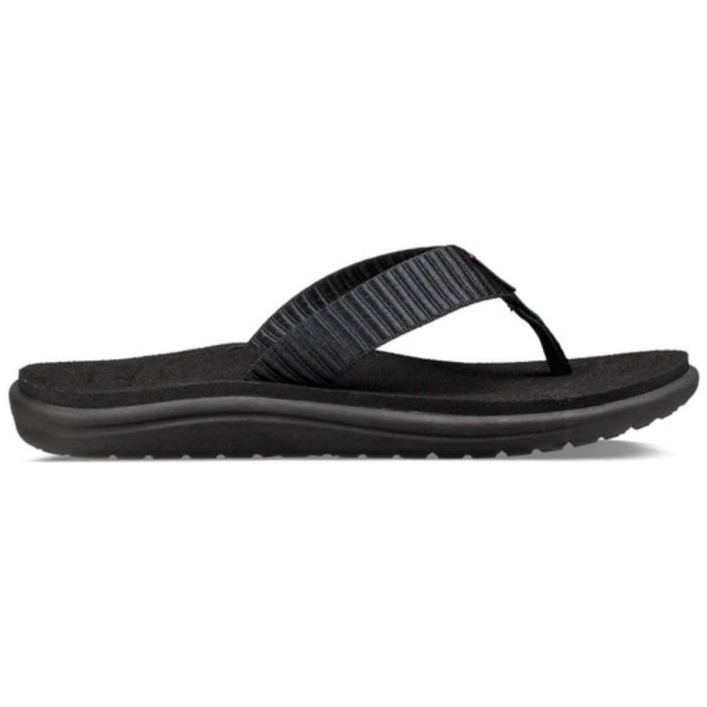 TEVA Women's Voya Flip Flops - BLACK