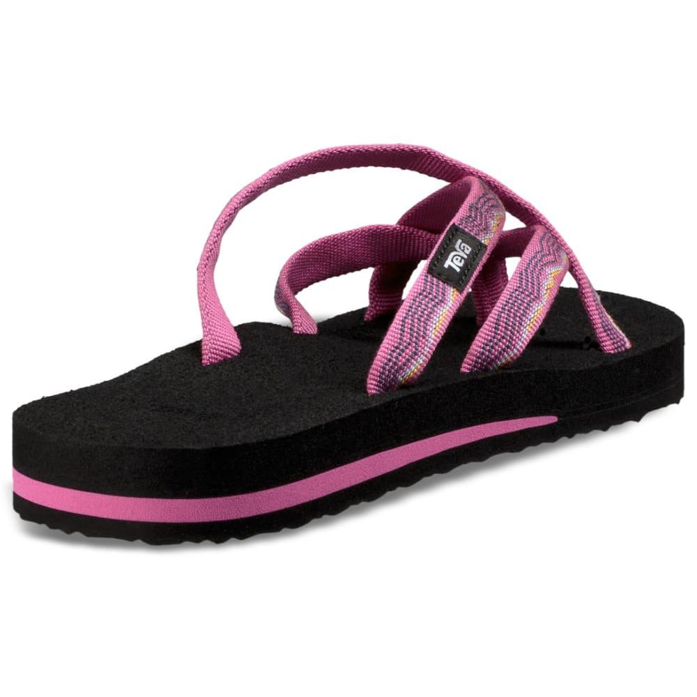 TEVA Women's Olowahu Slide Sandals - RASPBERRY