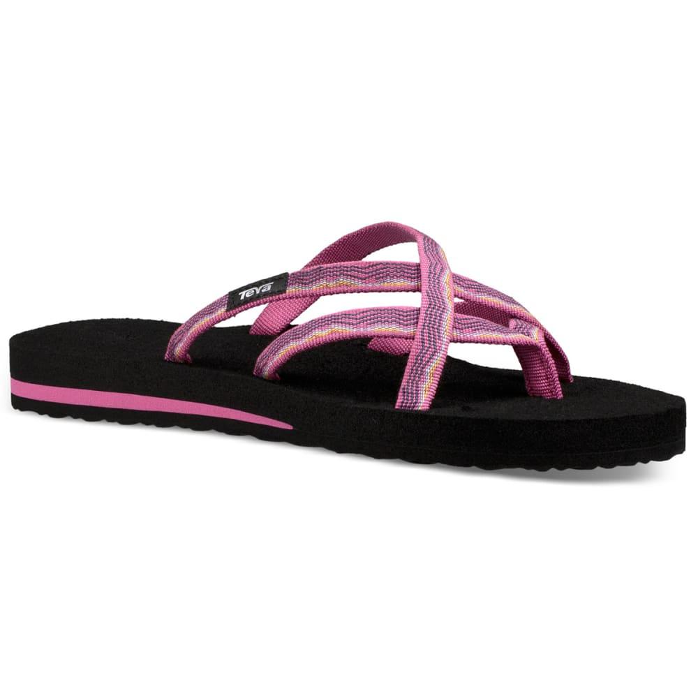 TEVA Women's Olowahu Slide Sandals 6