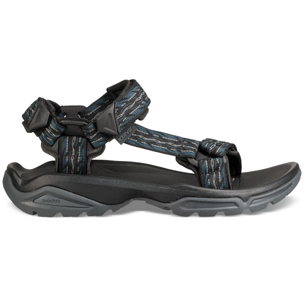 TEVA Men's Terra Fi 4 Sandals - FIRETREAD MIDNIGHT