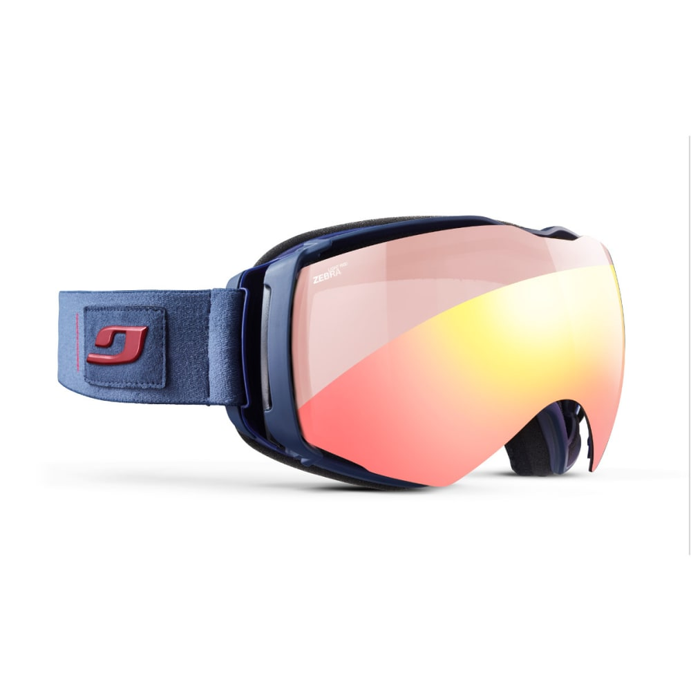 JULBO Aerospace Goggles, Military Blue/Red - Zebra Light Red - MILITARY BLUE/RED