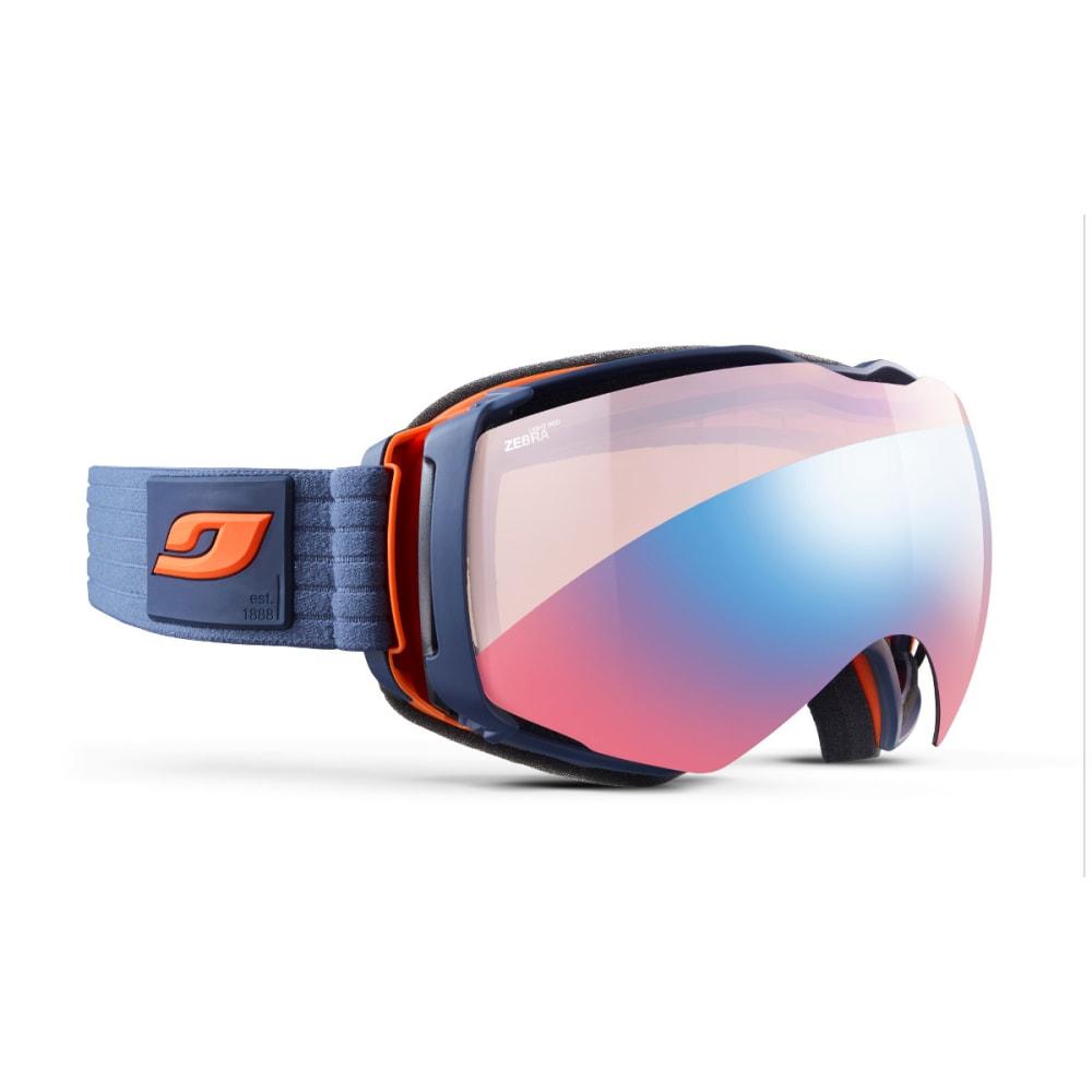 JULBO Aerospace Goggles, Dark Blue/Orange - Zebra Light Red - MILITARY BLUE/ORANGE
