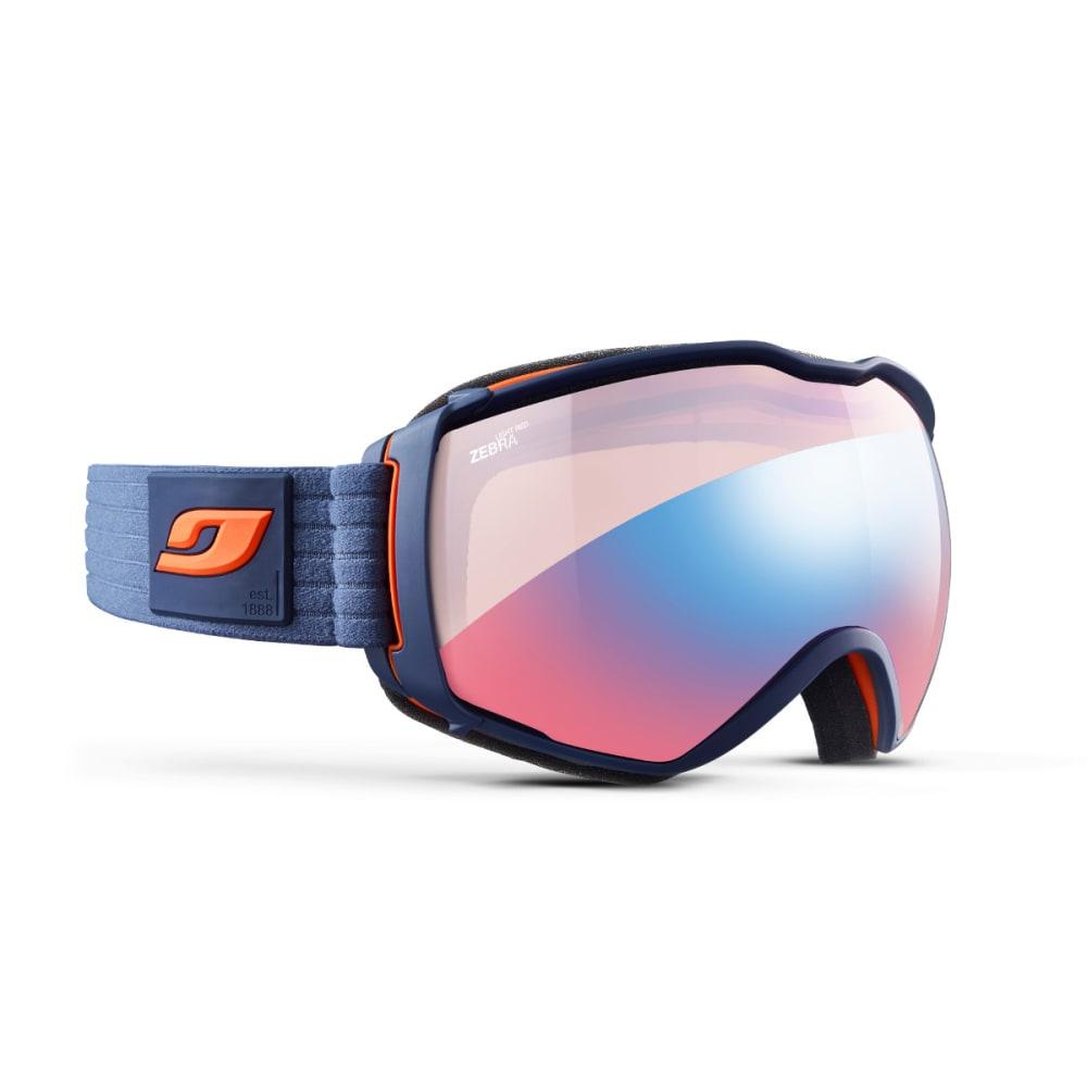 JULBO Aerospace OTG Goggles, Dark Blue/Orange - Zebra Light Red - MILITARY BLUE/ORANGE
