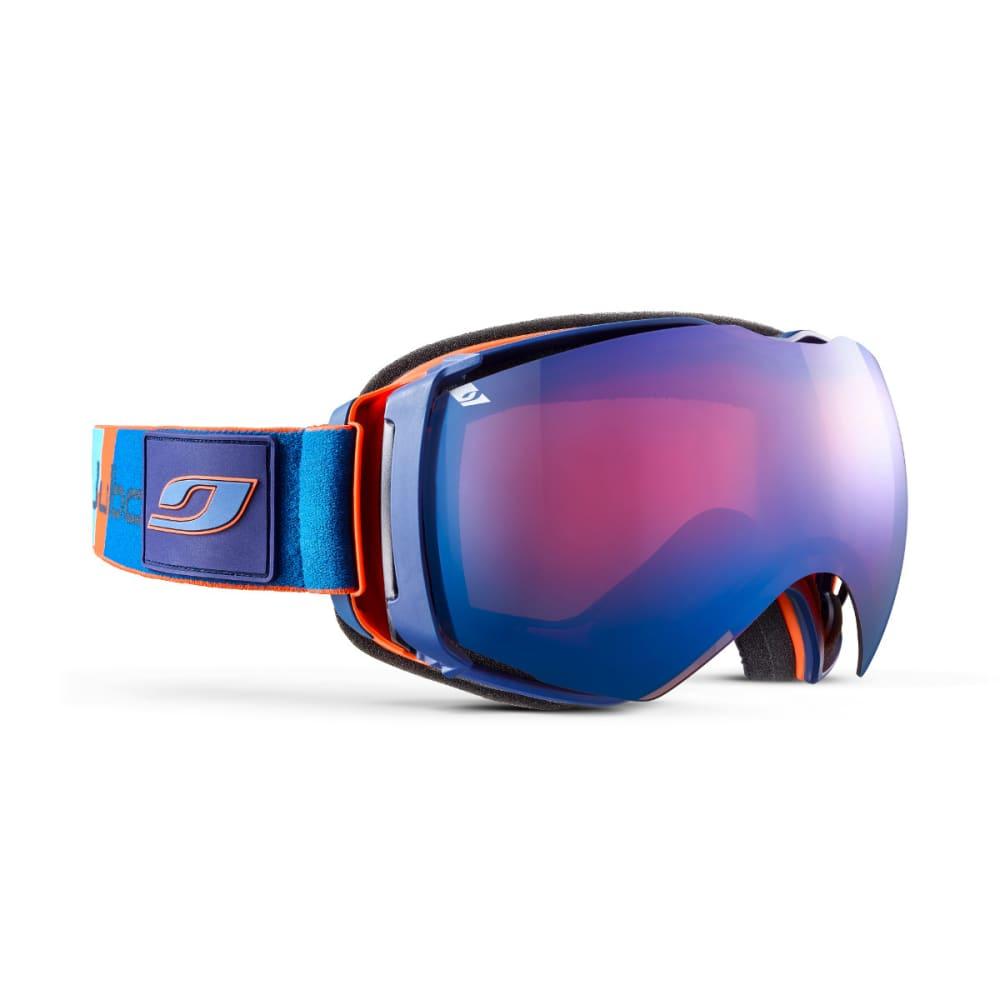 JULBO Airflux Goggles, Blue/Orange - Mirror Spectron Double Lens Cat. 3 - ORANGE/BLUE
