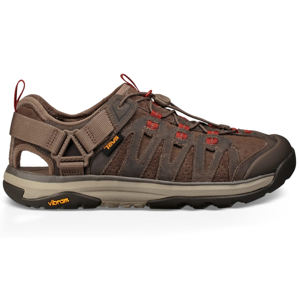 TEVA Men's Terra-Float Active Lace Hiking Sandals - WALNUT