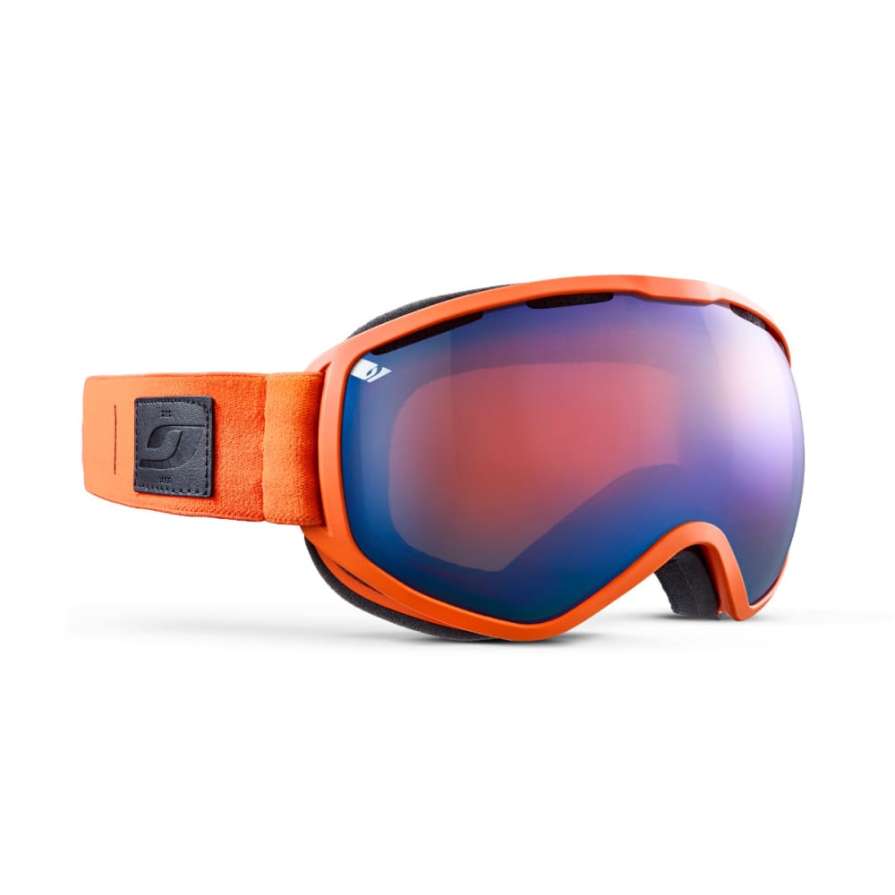 JULBO Atlas Goggles, Orange/Blue - Mirror Spectron Double Lens Cat. 3 - ORANGE/BLUE