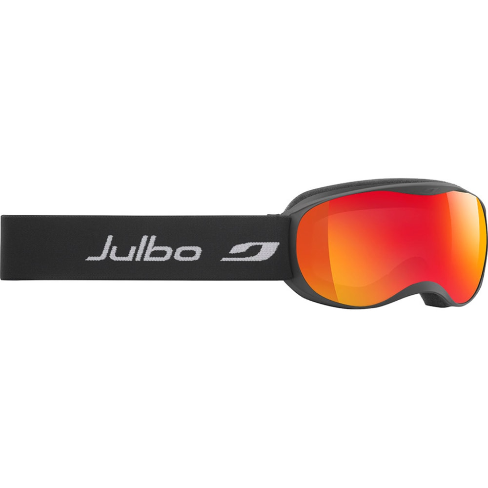 JULBO Atmo Goggles, Black - Mirror Spectron Double Lens Cat. 3 - BLACK
