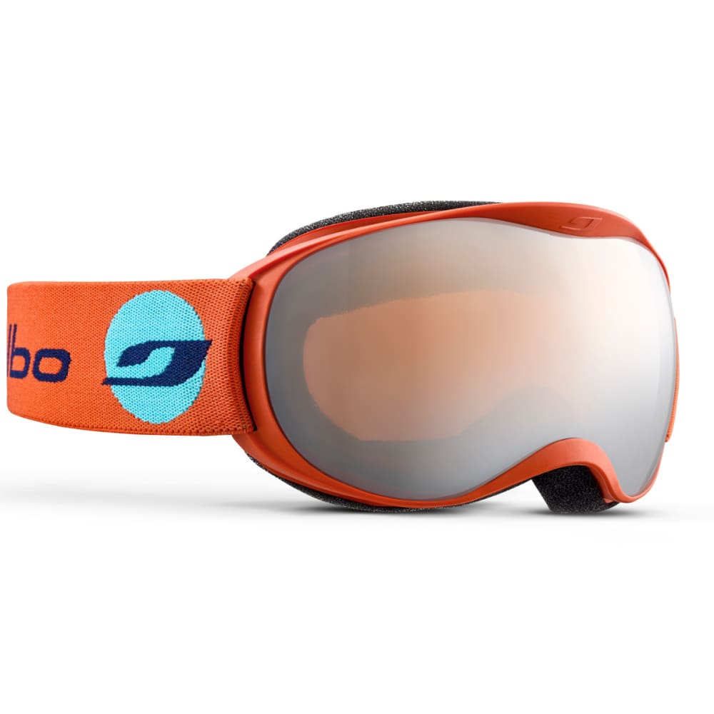 JULBO Atmo Goggles, Orange - Mirror Spectron Double Lens Cat. 3 - ORANGE/BLUE