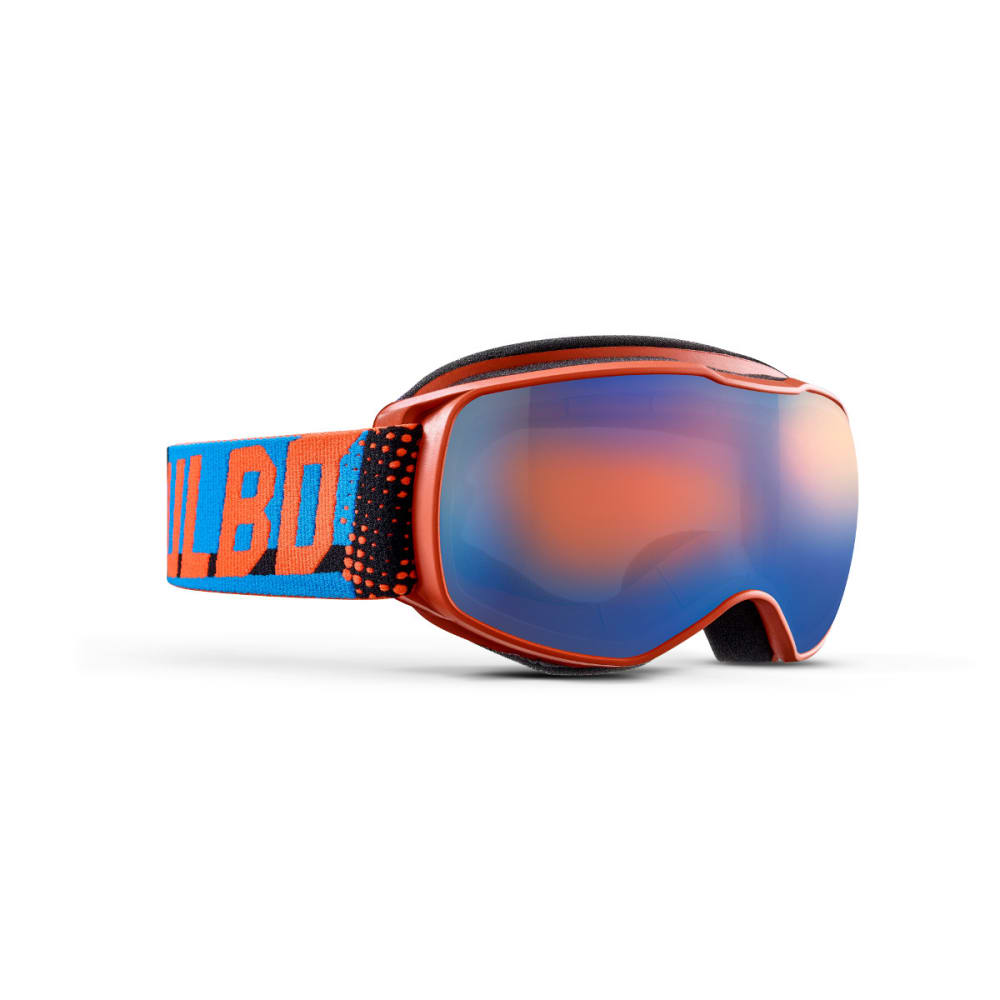 JULBO Youth Echo Snow Goggles, Orange Blue/Blue Flash - ORANGE/BLUE