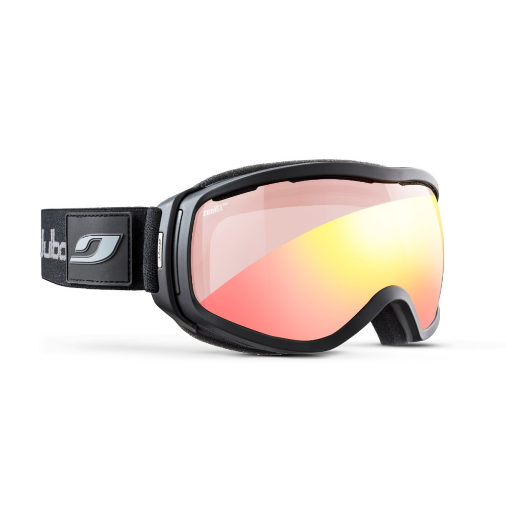JULBO Elara Goggles, Black/Grey - Zebra Light Red - BLACK/GREY