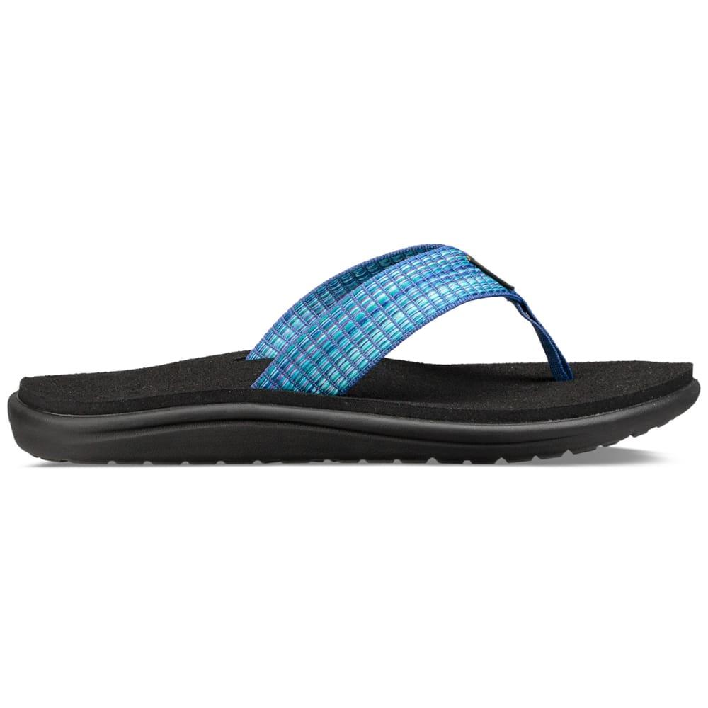 TEVA Women's Voya Flip Sandals - MULTI BLUE