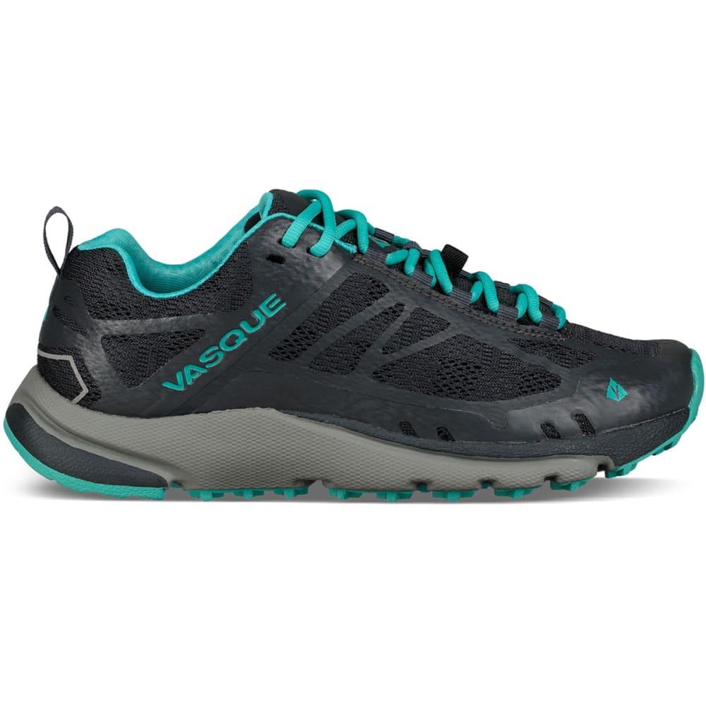 VASQUE Women's Constant Velocity II Trail Running Shoes - EBONY/BALTIC