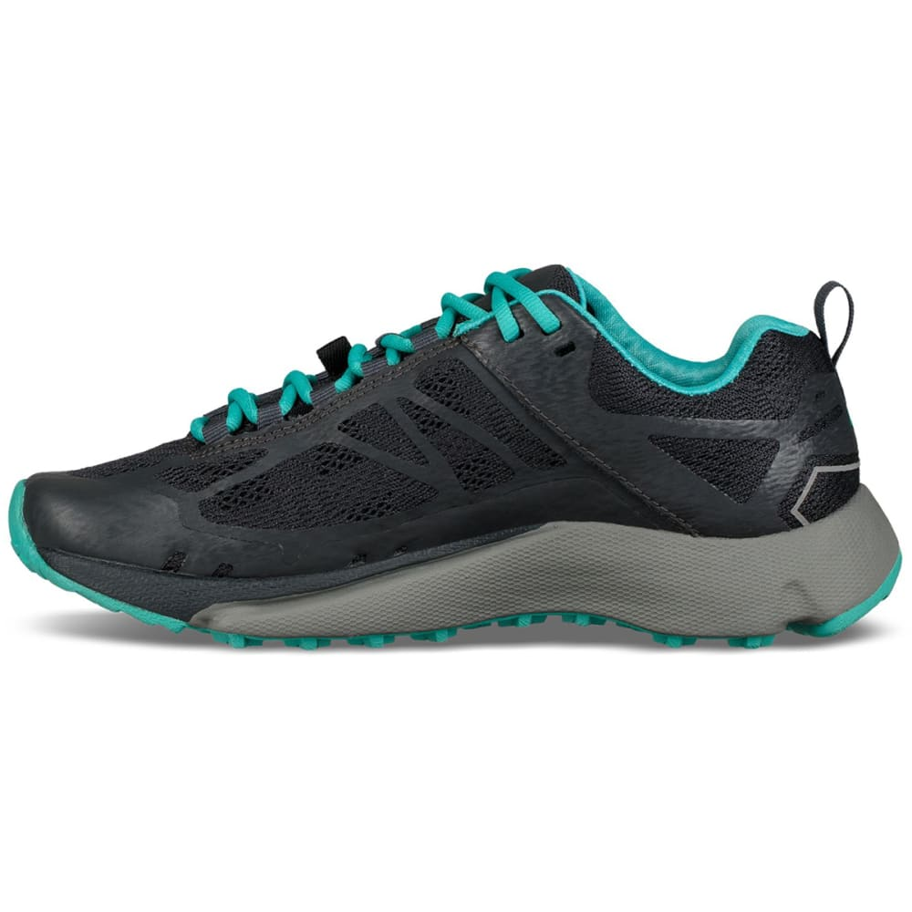 VASQUE Women's Constant Velocity II Trail Running Shoes - EBONY/BALTIC