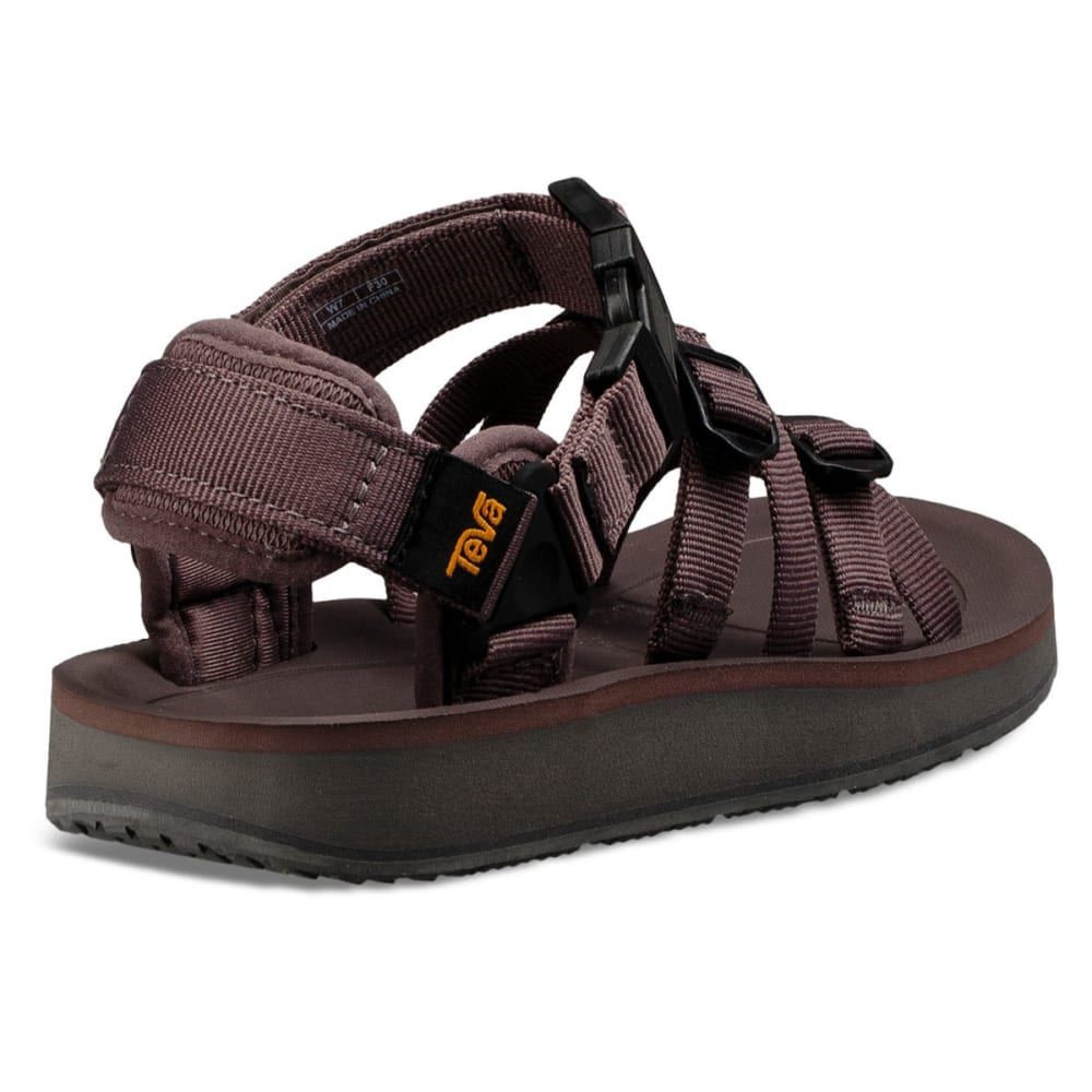 TEVA Women's Alp Premier Sandals - PLUM TRUFFLE