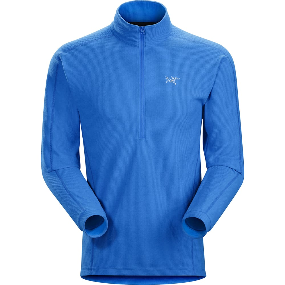 ARC'TERYX Men's Delta LT Zip-Neck Pullover - RIGEL