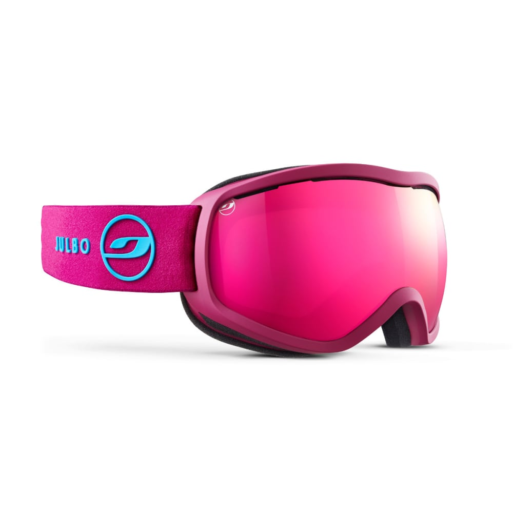 JULBO Equinox Goggles, Pink - Mirror Spectron Double Lens Cat. 3 - PINK