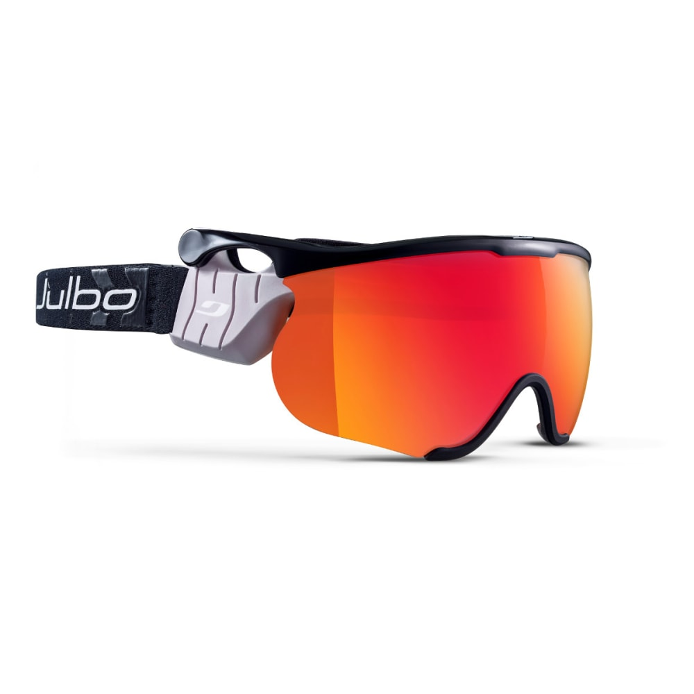 JULBO Sniper L Goggles, Black/Black - Single Lens Cat. 2 - BLACK/BLACK
