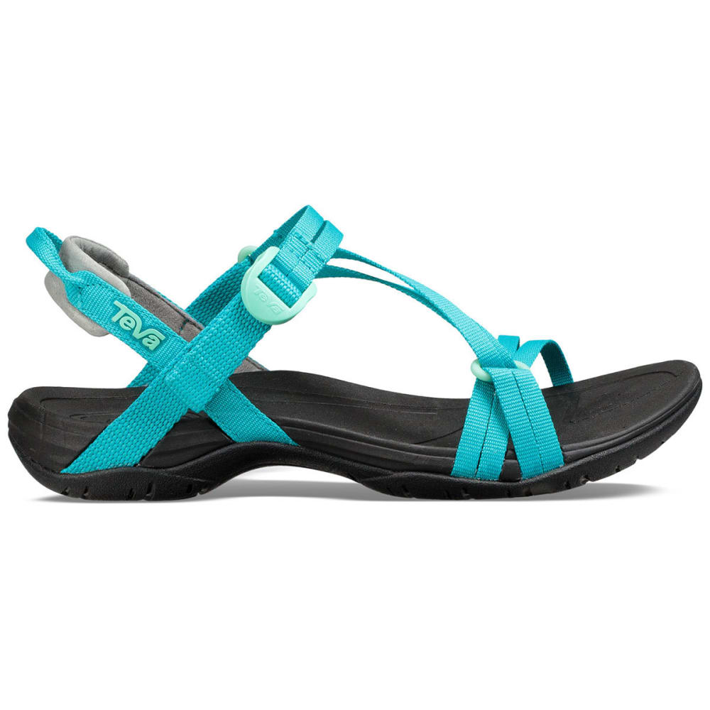 TEVA Women's Sirra Sandals - TILE BLUE