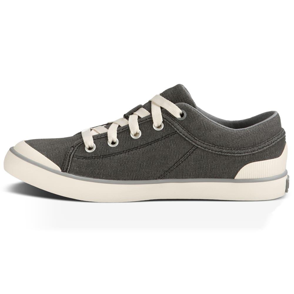 TEVA Women's Freewheel Washed Canvas Sneakers - BLACK