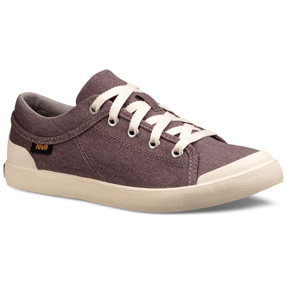 TEVA Women's Freewheel Washed Canvas Sneakers 6.5