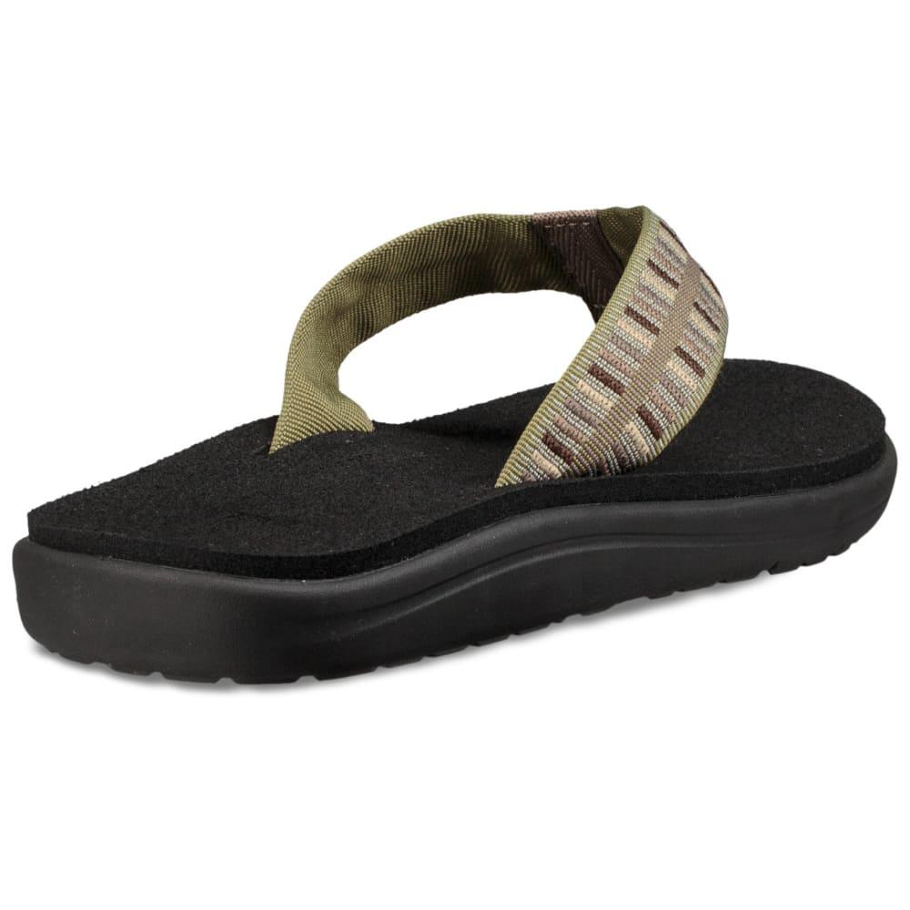 TEVA Men's Voya Flip Sandals - COLE OLIVE