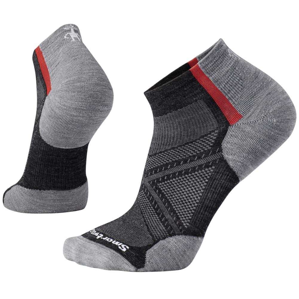SMARTWOOL Men's PhD Run Light Elite Pattern Low-Cut Socks - 003-GRAY